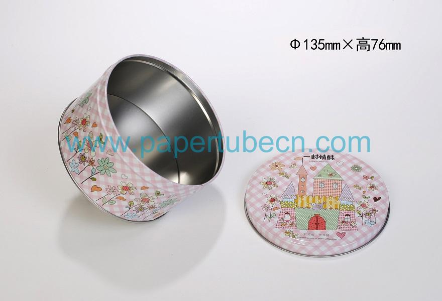 Cookies Packaging Round Tin Box