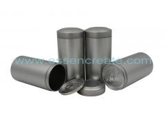 EOE Design Cylindrical Tea Tin Round Storage Cans